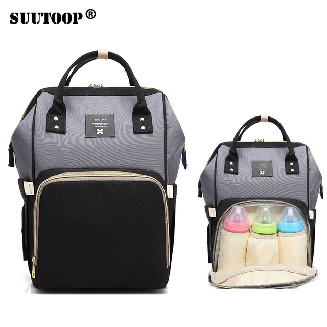 a40ca3fdf1 Waterproof Baby Diaper Bag Fashion Mummy Maternity Nappy Bag Large Capacity  Travel Backpack Designer Nursing Bag for Baby Care