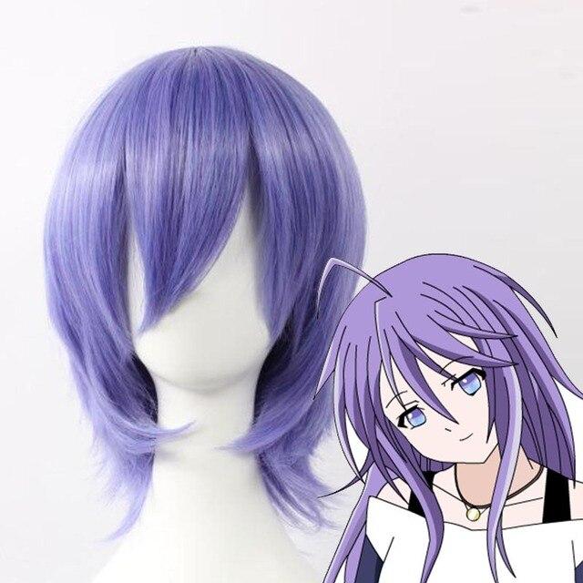 High Quality Rosario + Vampire Rosario Vampire Mizore Shirayuki Murasakibara Atsushi Heat Resistant Fiber Cosplay Wig