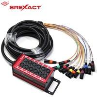 sunrise 30M 8 channel xlr connectors stage box & audio multi sanke cable