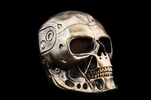 Image 5 - Terminator Skull Airsoft Full Face Helmet Mask Horror CS Halloween Protective Masquerade Party Cosplay Outdoor Props Resin Masks