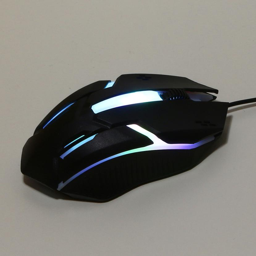 High Quality New Gaming Mouse Design 1200 DPI USB Wired Optical Gaming Mice Mouse For PC Laptop Computer Mouse  L0817#3
