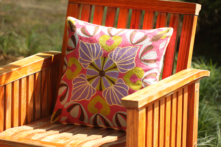 French Garden Embroidery Pillowcase Beautiful European Style Creative Cushion Decorative Pillow Cushions Home Decor Almofadas