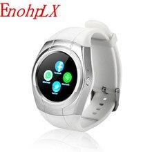EnohpLX T60 Novo relógio Inteligente smartwatch call reminder lembrete sedentário de monitoramento do sono