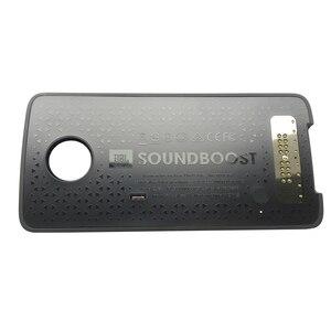 Image 3 - SoundBoost dla motorola moto Z4 Z3 zagraj w Z2 Force Droid Z odtwarzaniem telefonu adsorpcja magnetyczna moto mods głośnik shell