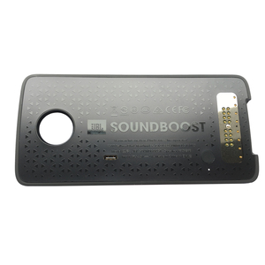 Image 3 - SoundBoost for motorola moto Z4 Z3 Play Z2 Force Droid Z Play phone Magnetic adsorption moto mods Speaker shell