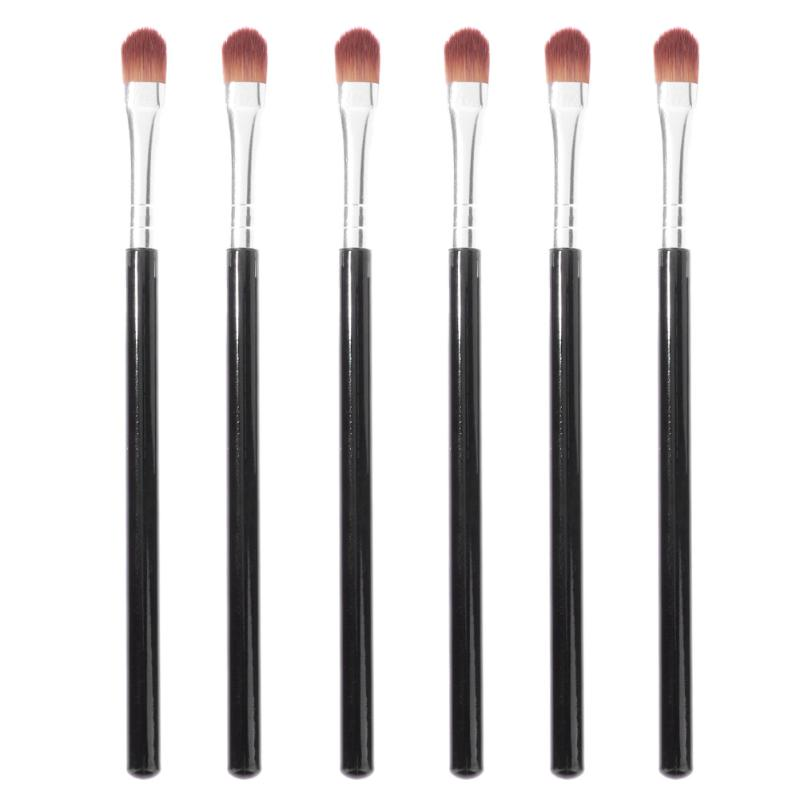 6Pcs Eyeshadow Brushes Set Eyeliner Eyelid Lip Make Up Brush Synthetic Hair Concealer Makeup Brush Set