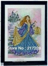 14CT Cross Stitches Princess Cinderella, Joan Elliott collection 42*51cm CS 079WM