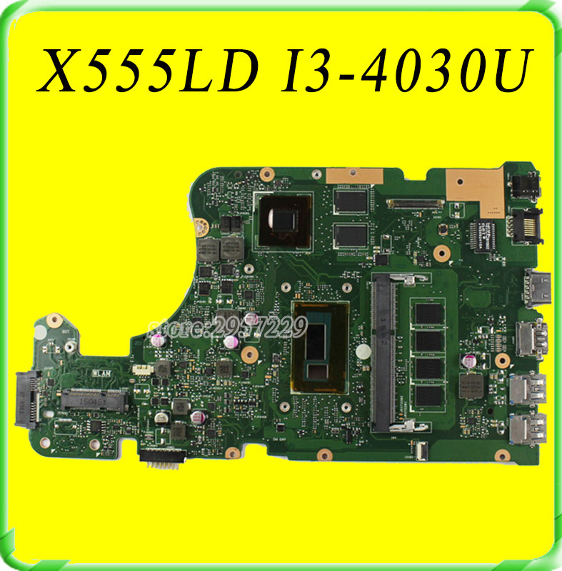 все цены на  For ASUS X555LD X555LB X555LD X555LJ X555LN  Motherboard REV3. 1 Mainboard GTX820M 2GB W/i3-4030U Free shipping  онлайн