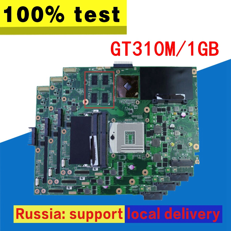 K52JC Motherboard REV:2.0 GT310M 1GB For ASUS K52JU K52JT K52JR X52J K52JE Laptop motherboardK52JC Mainboard K52JC Motherboard k52ju laptop motherboard mainboard for asus k52jt k52j k52jc a52j x52jc x52j k52je with hd6370 512m ddr3