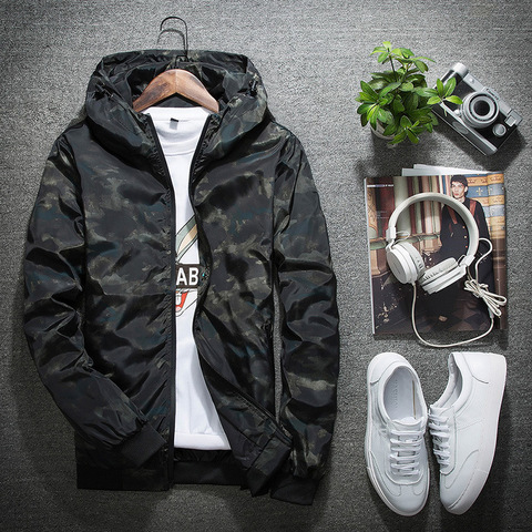 New Autumn Winter Jacket Men Thin Jackets Men Casual Lover Jacket Hip Hop Windbreaker Hooded Jacket Coat Zipper Parka Men Lahore