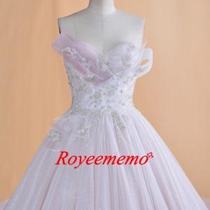 Image 5 - 2019 Thiết Kế Mới nóng bán dài tay áo vàng vành đai Wedding Dress ren wedding gown bất hình ảnh nhà máy thực hiện bán buôn giá