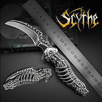 AZRAEL OD005 Free ship Folding blade knife High Custom Hunting Handmade 8Cr13MoV camping knife outdoor stainless steel knive