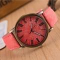 Лидер продаж, мужские и женские винтажные круглые повседневные ковбойские Аналоговые кварцевые наручные часы с джинсовой тканью, Reloj Mujer Kadin...