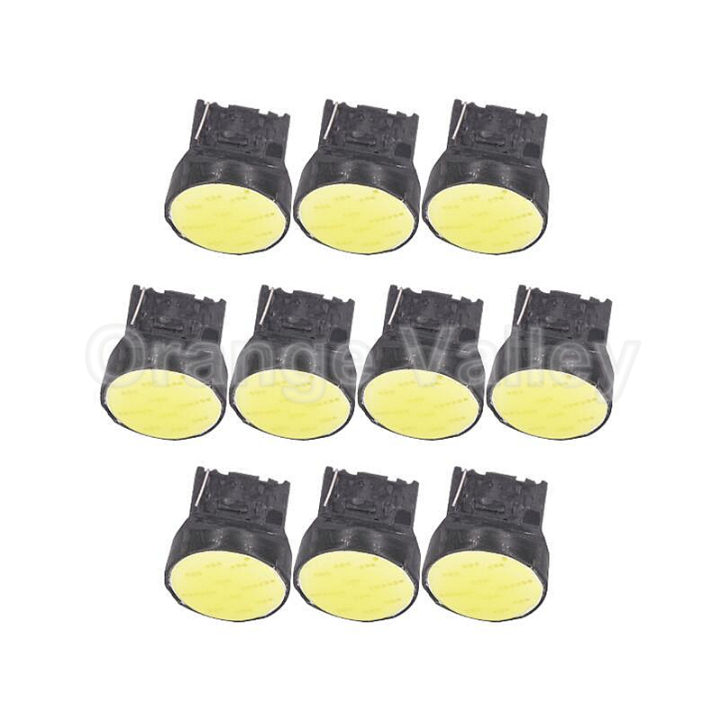 10Pcs Super Bright T20 W21W 7440 12chips COB LED Super Bright White Car Auto Fog Light light Driving Lamp Bulb DC12V