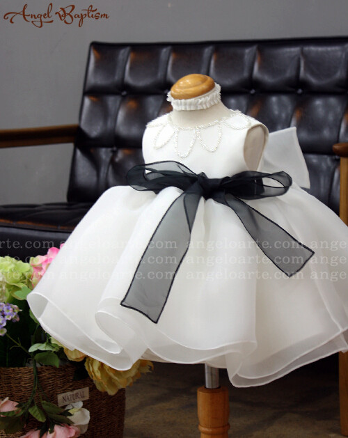 1838f5f54 Beaded vintage long sleeves white ivory lace infant girl baptism ...