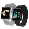 Мужские Смарт-часы P68  для женщин  кровяное давление  кислород  пульсометр  спортивный трекер  умные часы  водонепроницаемые  для IOS  Android