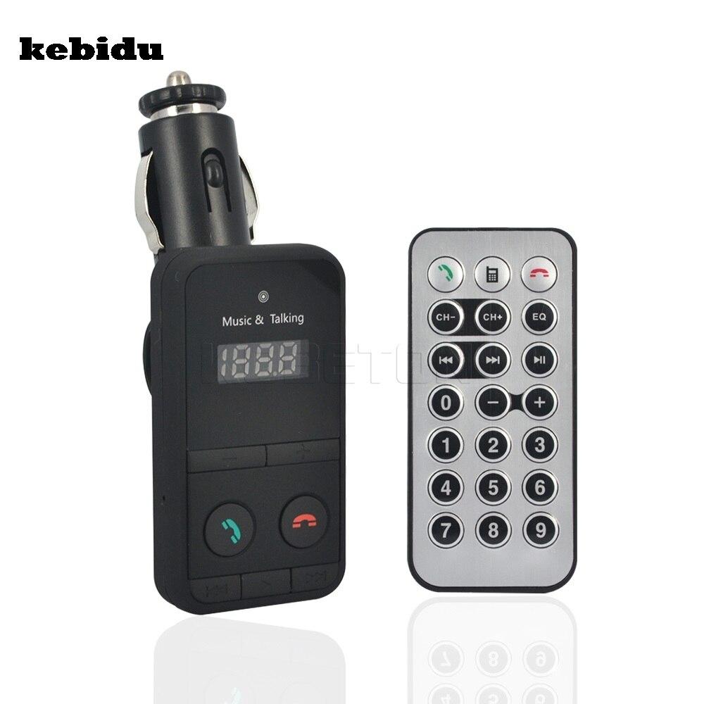 Kebidu Bluetooth Car Kit Freisprecheinrichtung Stereo Freisprecheinrichtung Fm Transmitter Spielen Musik Vom Usb-festplatte Tf Kartenleser Guter Geschmack Unterhaltungselektronik