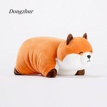 Dongzhur Cute Fluffy Fox Plush Toy Stuffed Soft Animal Cartoon Pillow Lovely Christmas Gift for Kids Girlfriend Children Toys