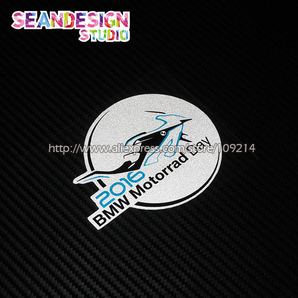 For BMW RGS Bmw Motorrad Day Helmet Motorcycle Stickers Moto - Bmw motorcycle stickers and decals