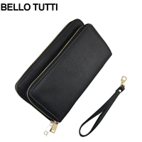 BELLO TUTTI Fashion Female Wallets High Quality PU Leather Wallet Women Long Style Purse Large Capacity