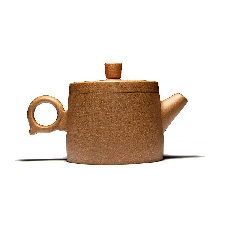 Célèbre famille fait à la main qualité brut Mine pente boue Hanwa anneau violet sable Pot Kungfu Teaware Set cadeau personnalisation - 5