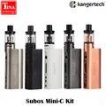 E cigarro eletrônico starter kit kanger subox mini-c 50 w vape mod com 3 ml atomizador protank5 0.5ohm ssocc kangertech vaporizador