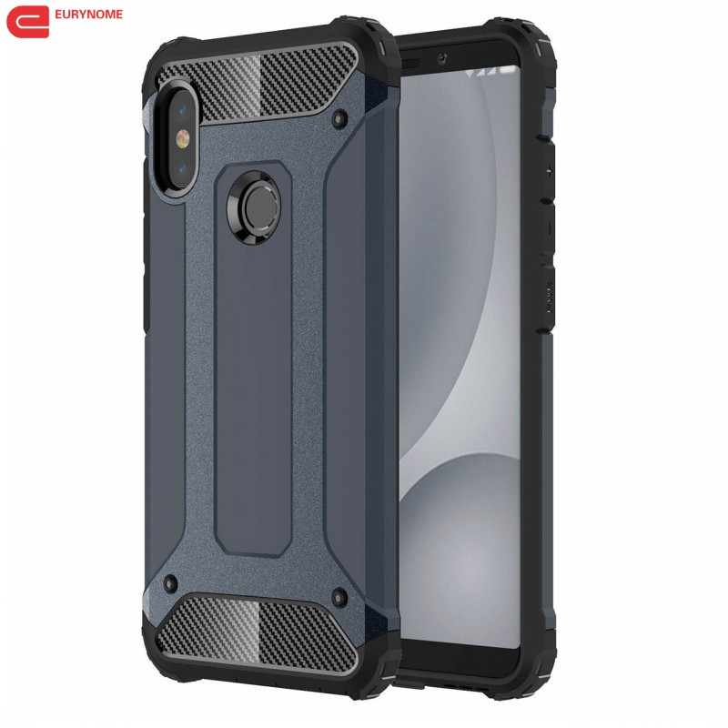 Väska till Xiaomi Redmi Note 5 Pro Global A2 Väska Plast 2 i 1 - Reservdelar och tillbehör för mobiltelefoner - Foto 1