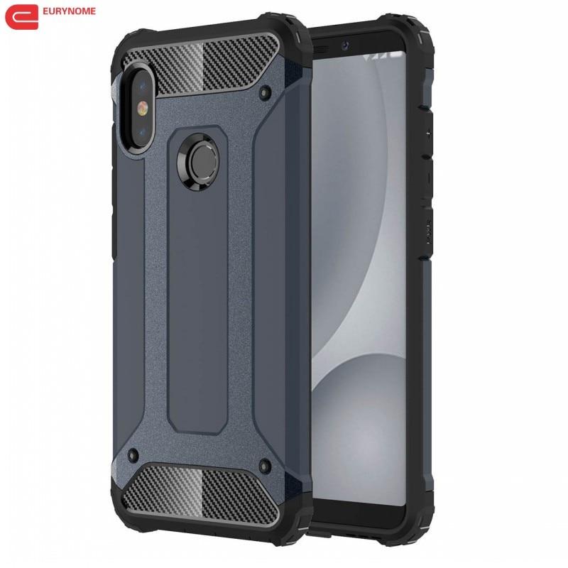 Case for Xiaomi Redmi Note 5 Pro Global A2 Case Plastic 2 in 1 Hybrid - Բջջային հեռախոսի պարագաներ և պահեստամասեր - Լուսանկար 1