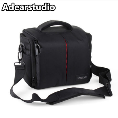 2017 wholesale customized one shoulder large capacity vintage dslr nylon camera bag for outdoor dslr camera bag CD50