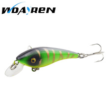 Hot Sell Crank bait Fishing Lure 57mm 4.4g Hard Bait Wobbler Crank Bait Floating Lure 1.5-3.5M Artifical Peche 8 # Hook FA-320