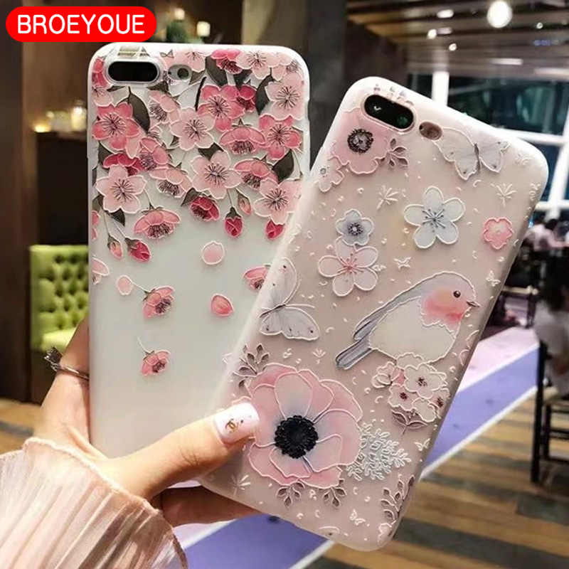 Case For Huawei P30 P20 P10 P9 P8 Mate 20 10 Lite Pro P Smart 2019 Honor 9 10 Lite 6X 7X Nova 2i Plus 3E 3D Relief TPU Cover