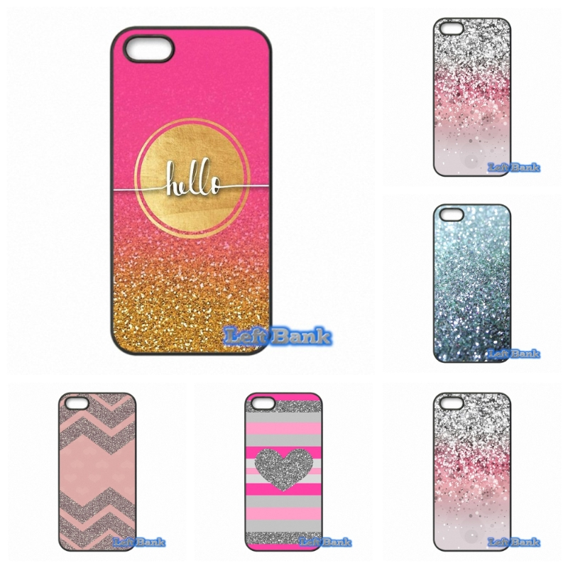 Enjoy Silver Pink Glitter Art Phone Cases Cover For 1+ One Plus 2 X For Motorola Moto E G G2 G3 1 2 3rd Gen X X2