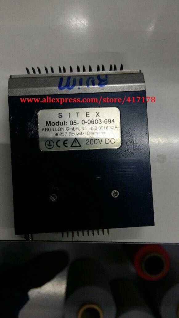 Santoni Seamless Machine SM8-EVO4 Use Replace Siemens SITEX 200V Actuators Piezoelectric Ceramics Board