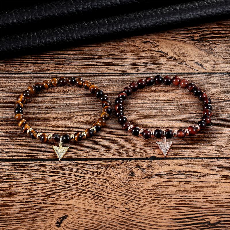 Женский эластичный браслет janeyacy модный с бусинами из натурального