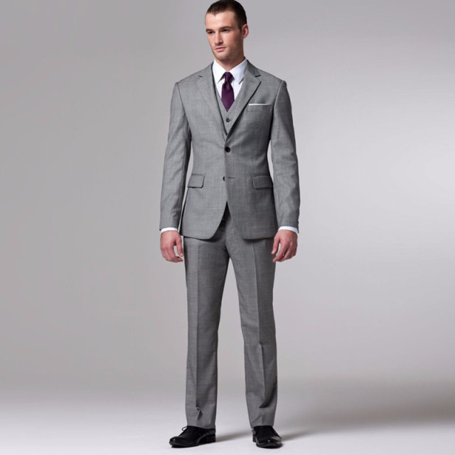 New Fashion Groom Suit Custom Made Wedding Suits For Men Bespoke Vintage Tuxedo Three Pieces
