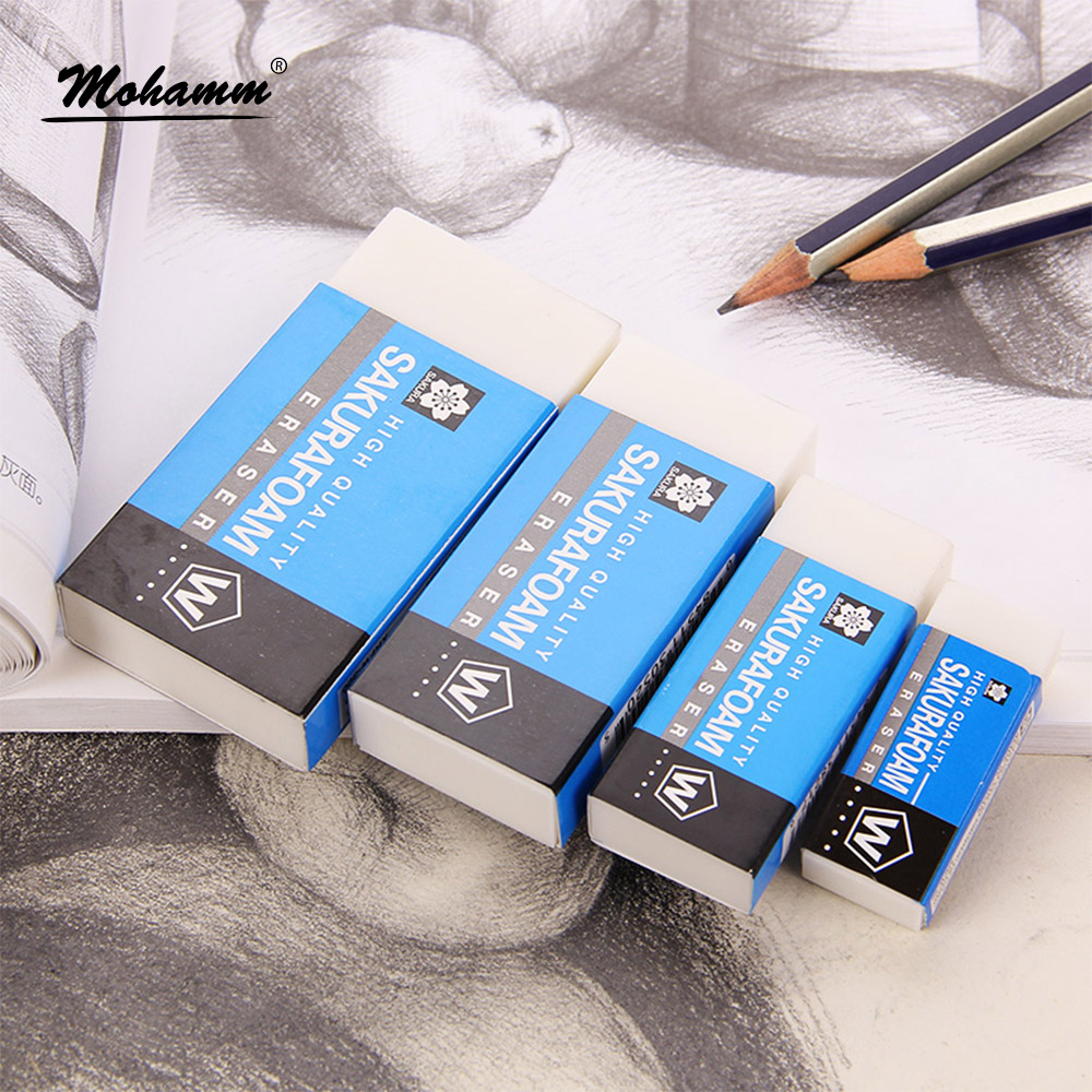 High Quality Foam Eraser Professional Drawing Eraser Rubber Pencil Eraser High Polymer For Student Sketching Drawing