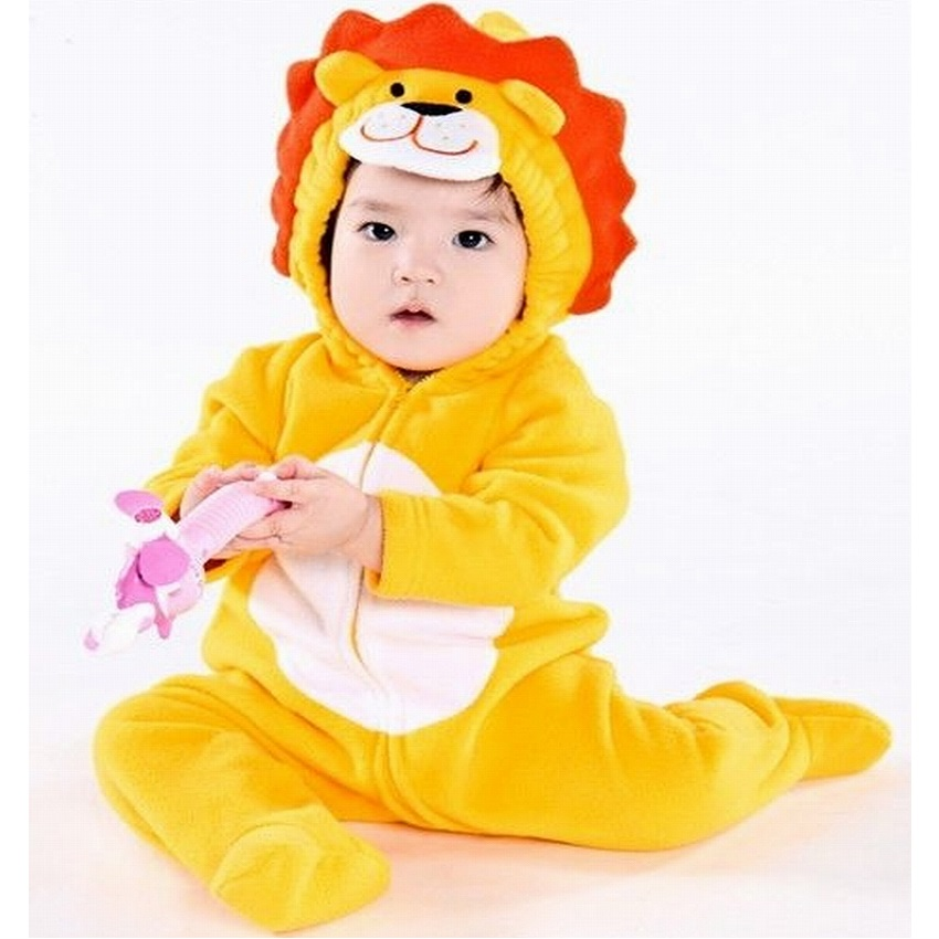 Outfits, Costumes, Fleece, Lion, Rompers, Boys