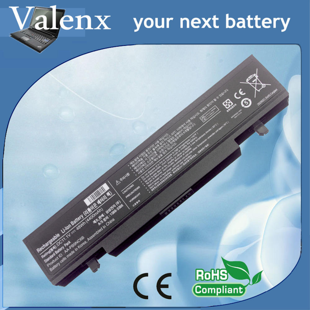 Laptop battery for samsung NP300 NP300E5A NP300E5A NP300V5AH NP350 NP270E5E NP350V5C NP350E7C AA-PB9NC6B AA-PB9NS6B