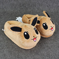 "11""28cm Pikachu Eevee Sylveon Umbreon Espeon Jolteon Flareon Poke Ball Plush Slippers Stuffed Plush Shoes for men women kids"