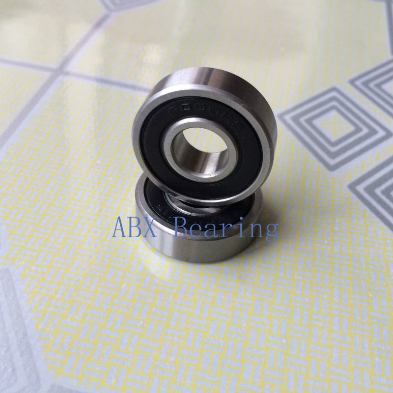 6000-2RS 6000RS 6000 deep groove ball bearing 10x26x8mm