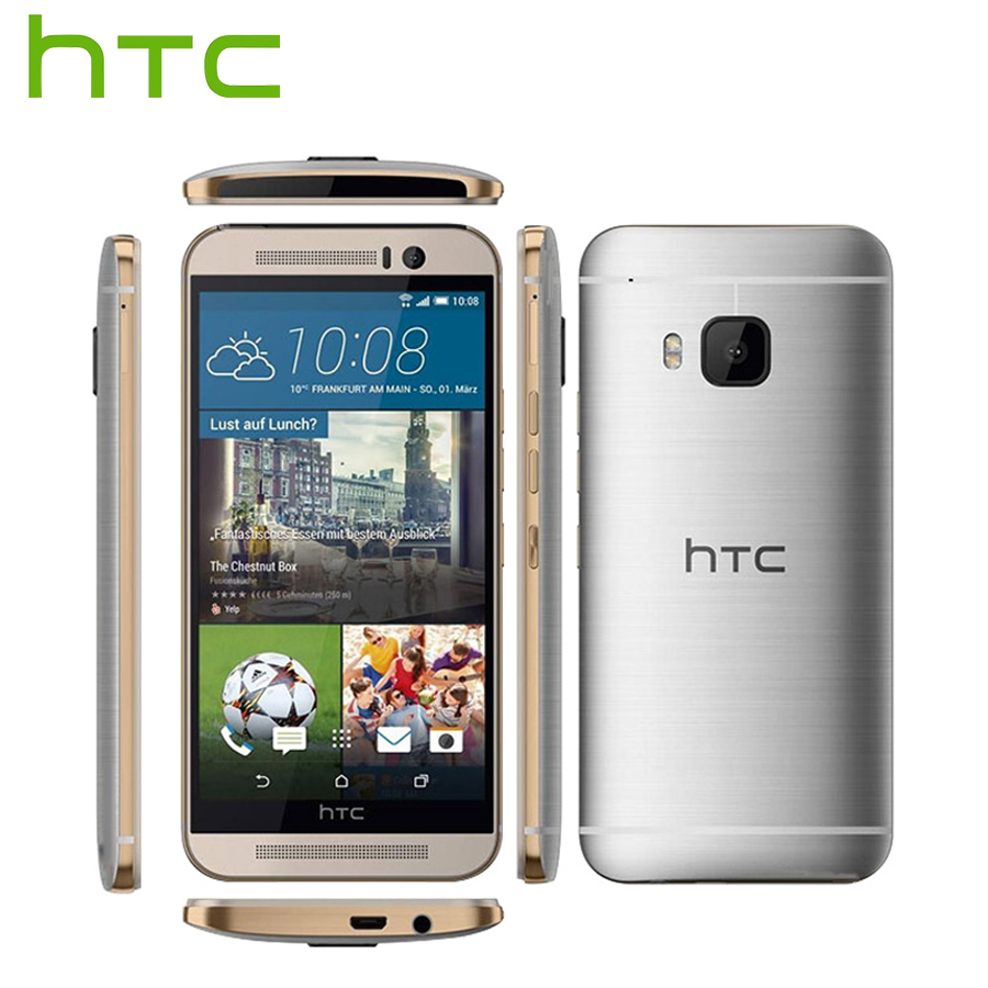 AT&T Version Original HTC One M9 4G LTE Mobile Phone Octa Core 3GB RAM 32GB ROM 5.0inch 1920x1080 Rear Camera 20MP CellPhone