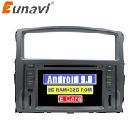 7 Android 9.0 2G+32G 8Core 2Din Steering Wheel For MITSUBISHI PAJERO V97 Car Multimedia Player Fast Boot GPS+Glonass