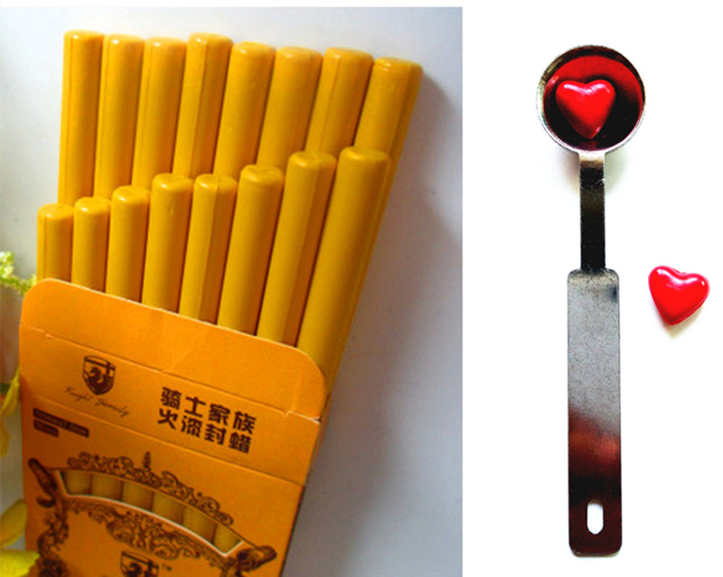 16pcs Vintage Wax Stick Round Colorful Wax Stamp Sealing Wax Sticks for Glue Gun Sealing Gun Wax  (16pcs and 1Spoon) crystal long tassel zanhuaji vintage classical hair stick for tv play legend of chinese empress wumeiniang handmade hair sticks