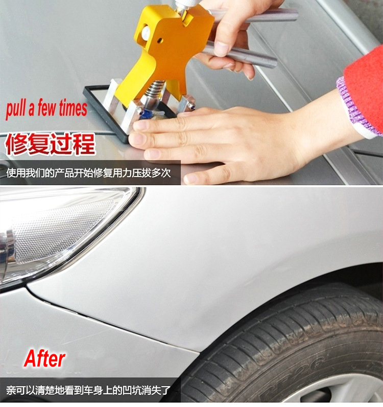 Strumenti PDR Strumenti di riparazione ammaccatura senza vernice - Set di attrezzi - Fotografia 6