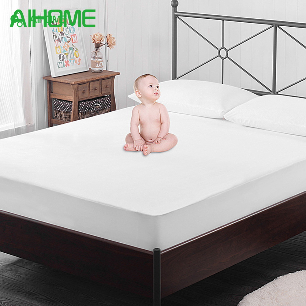 Kid Elder Nursing Mattress Protector Bamboo Fiber Waterproof Urine Pad Mat Mattress Cover Waterproof Fitted Sheet