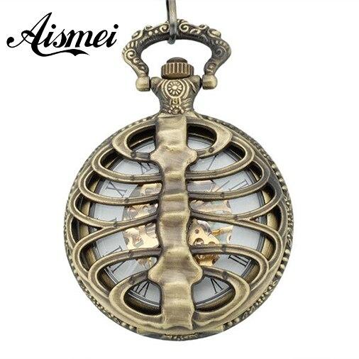 20pcs/lot Classic Palace Style Bronze Large Wholesale Watch Pocket Watch Pocket Watch Back Bone Fashion Personality Men