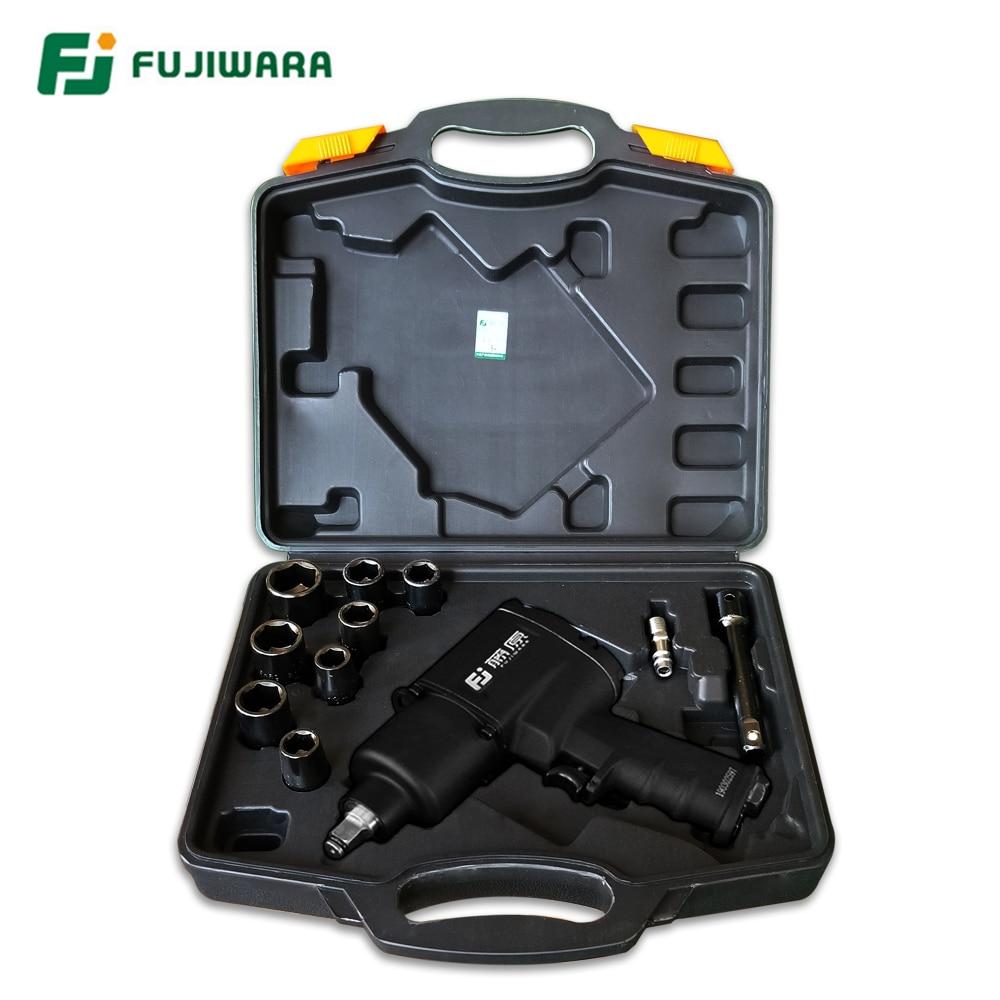 FUJIWARA Air Pneumatic wrench 1 2 1280N M Impact Spanner Large Torque Pneumatic Sleeve Pneumatic Tools
