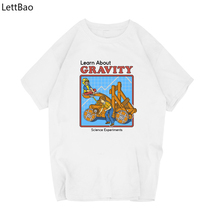 Learn about Gravity T Shirt Men Science Funny Short Sleeve O Neck Casual Summer T Shirts Clothing Harajuku Ropa Hombre De Marca