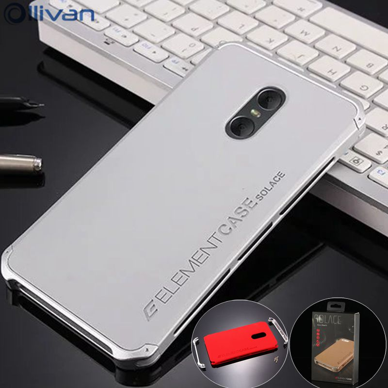 For Xiaomi Redmi Note 4x Case 3gb 32gb Aluminum Metal Frame PC Back Cover Redmi Note