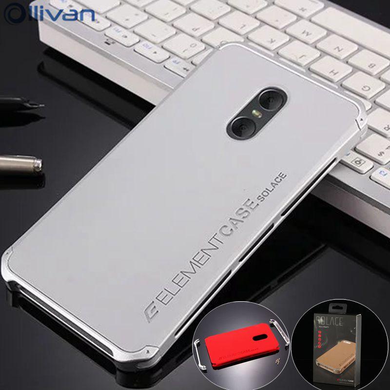 For Xiaomi Redmi Note 4x Case 3gb 32gb Aluminum Metal Frame PC Back Cover Redmi Note